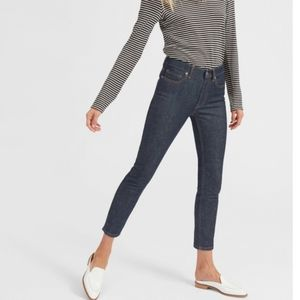Everlane high rise skinny ankle jeans